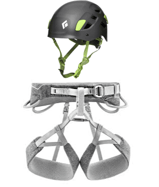 Harnesses and helmets